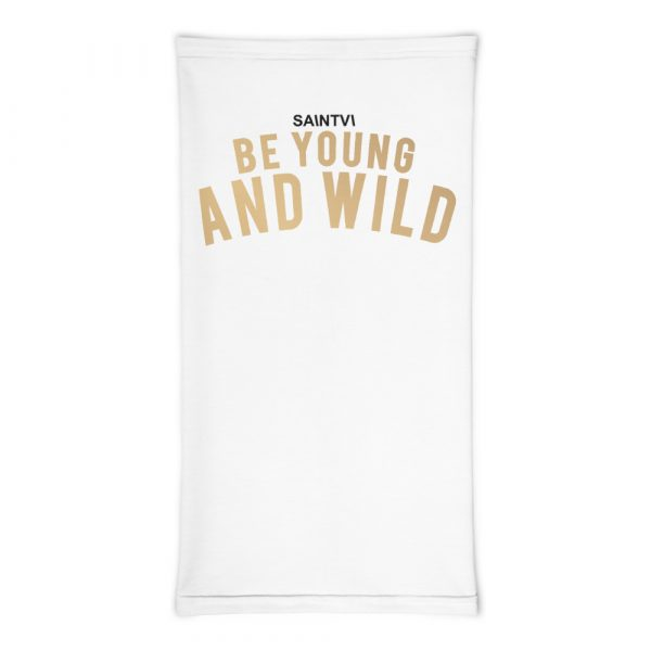Be Young & Wild Face Cover